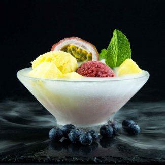 colder than ice, kälter als Eis, pure taste, wahrer Geschmack, dive into the world of true enjoyment, tauch ein in die Welt voller Genuss