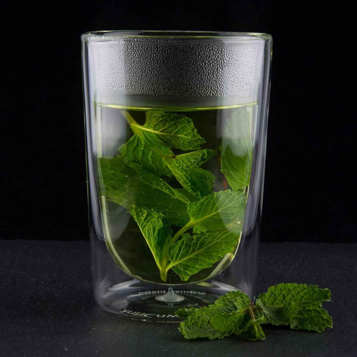 thermo glas 280 ml cooldowndrink trinkglas zum k hlen von getr nken. Black Bedroom Furniture Sets. Home Design Ideas